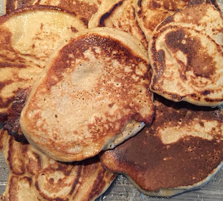 pancakes banane - Dieteticienne Carcassonne Emilie Menassi